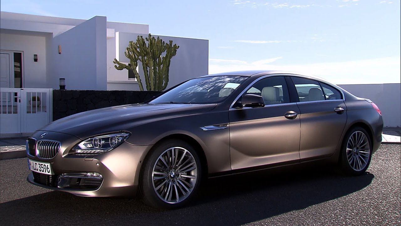 ▻ 2013 BMW 6 Series Gran Coupé 4-door - YouTube