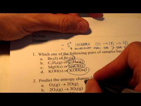Exam Review Part 1 Thermodynamics Kinetics Equilibrium