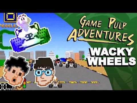 Game Pulp Adventures - Wacky Wheels