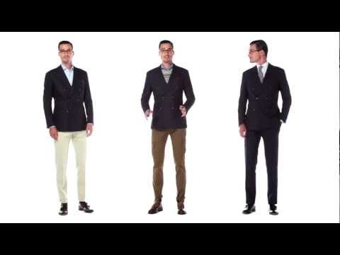 The Double-Breasted Suit Three Ways