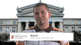 Client Story - Kevin Warehouse Accident | New Jersey Workplace Accident Lawyer