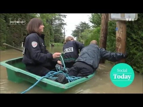 Social Today: Drie Franse agenten in een bootje - Z TODAY