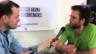 Damien Artero (Autarcies), voyage à vélo par ABM-TV