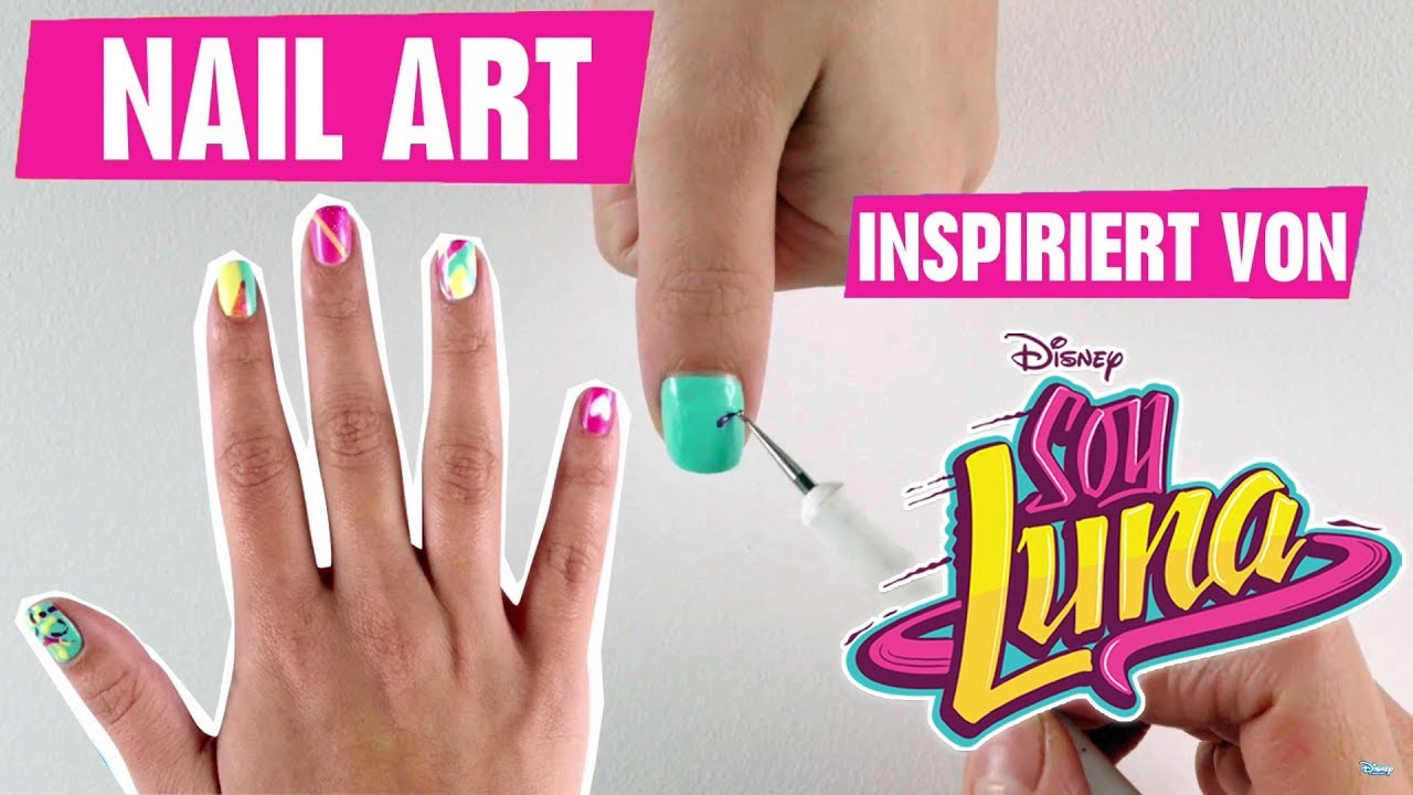 Disney\'s Nail Art - Inspiriert von: Soy Luna | Disney Channel - YouTube