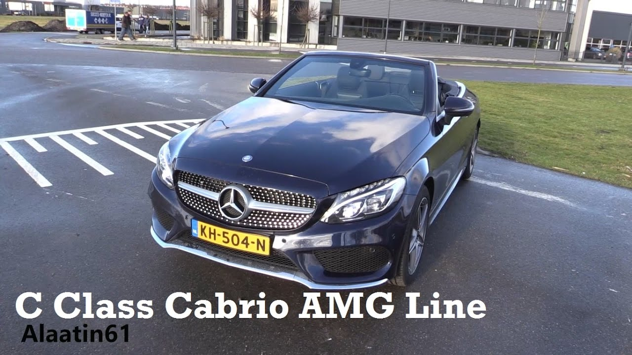 Mercedes c400 airmatic or not 2017 2018 best cars reviews - Mercedes C Class Cabriolet 2017 Test Drive In Depth Review Interior Exterior