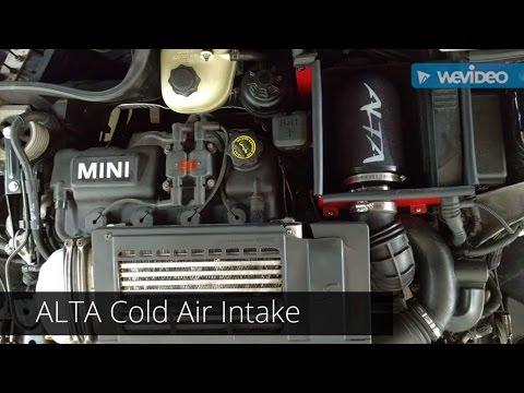Alta Cold Air Intake CAI sounds For 20022006 Mini Cooper S  R53