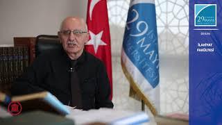 İlahiyat Fakültesi Dekanı Prof. Dr. Ahmet YÜCEL İlahiyat fakültesini Anlatıyor