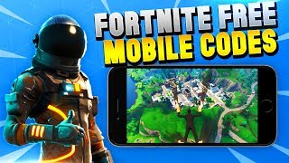 FORTNITE MOBILE IS HERE - HOW TO GET A FREE CODE! iOS/Android - Fortnite Battle Royale