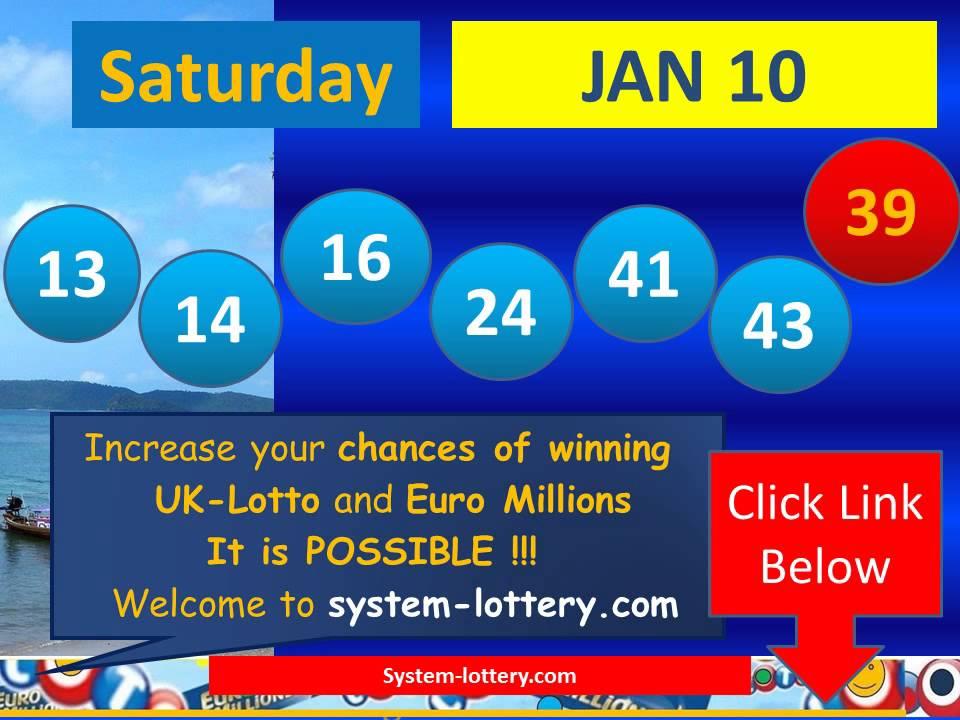 X Lotto Saturday