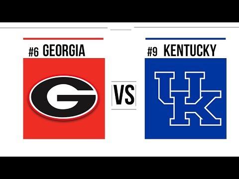 Week 10 2018 #6 Georgia vs #9 Kentucky Full Game Highlights