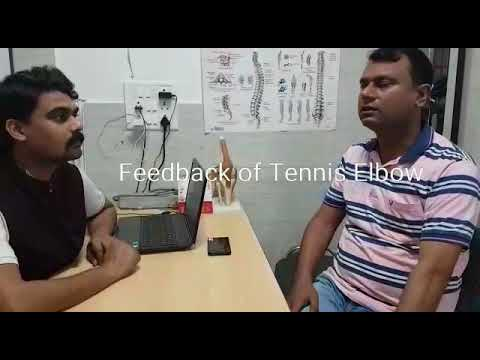 Tennis Elbow Care Physiotherapy Centre Lucknow.