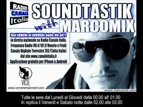 MARCOMIX presents SOUNDTASTIK - Radio Show on RADIO CANALE ITALIA (Radio Promo)