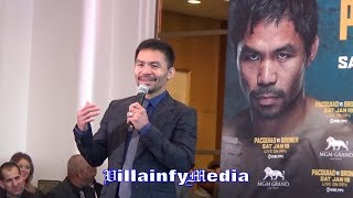 MANNY PACQUIAO FLIPS THE SCRIPT ON BRONER, BEATS HIM AT HIS OWN GAME