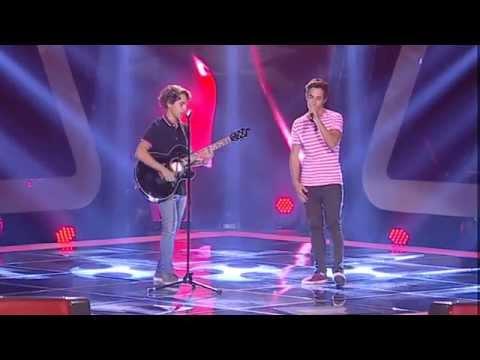 Miguel Valente e Francisco Monteiro - 'Radioactive'   Provas Cegas   The Voice Portugal   Season 3
