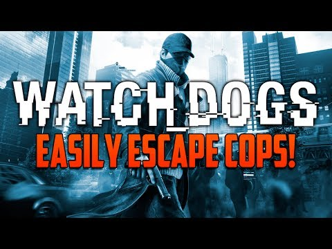 Watch Dogs: How To Easily Escape Cops & Lose Wanted Level Quickly! (Watch_Dogs)