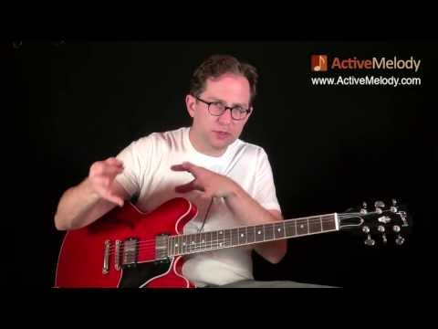 Part 1 of 4 - How to Play a Blues Lead Guitar Solo and Rhythm in the Key of A - EP018