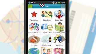 Tap & Say Foreign Language Travel Phrase Book - Android App