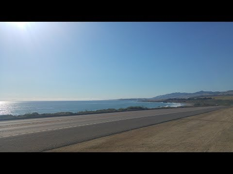 Day 1 On Pacific Coast Highway - in 2 days : Irvine, California to Lompoc to San Simeon, California