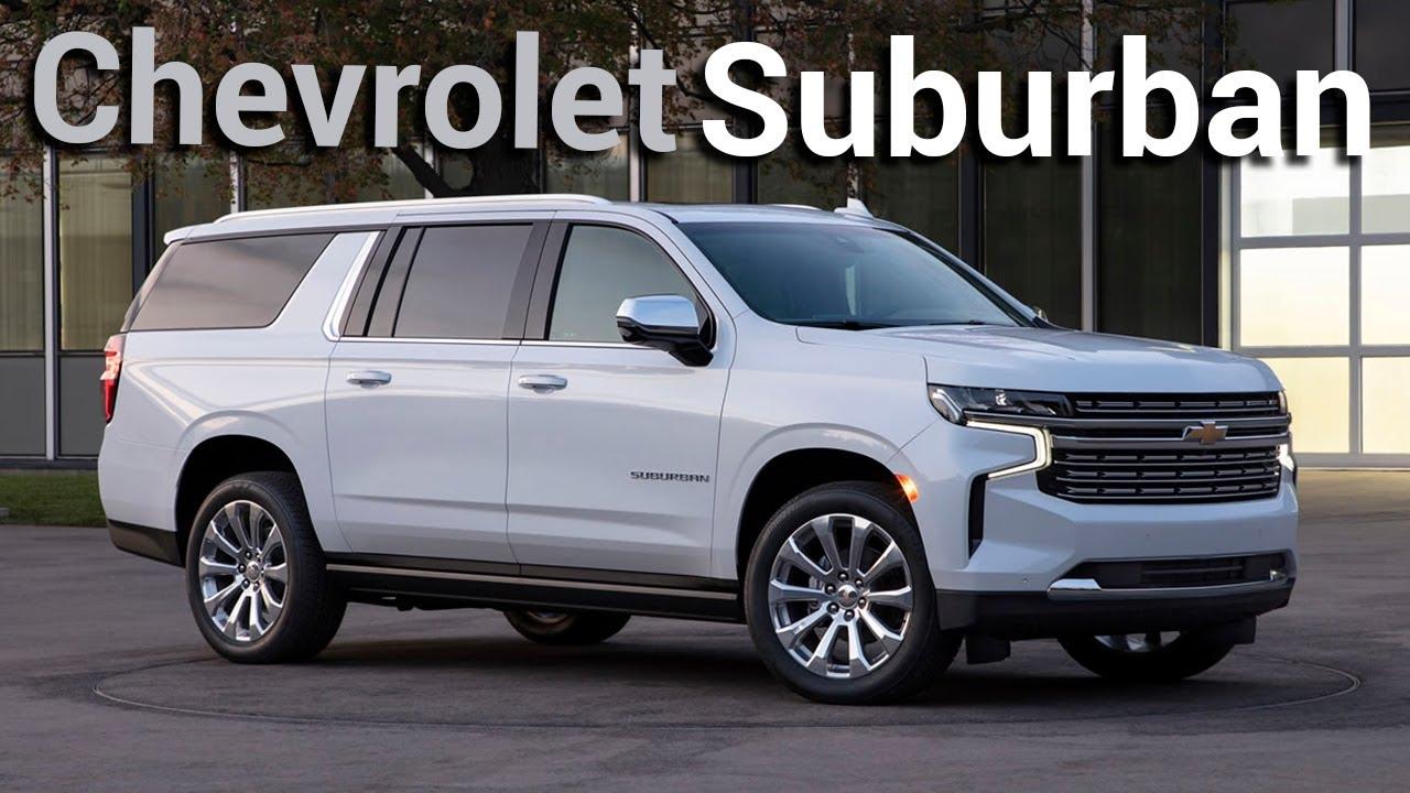 Chevrolet Suburban 2021 Nuevamente Es La Rival A Vencer Autocosmos Youtube