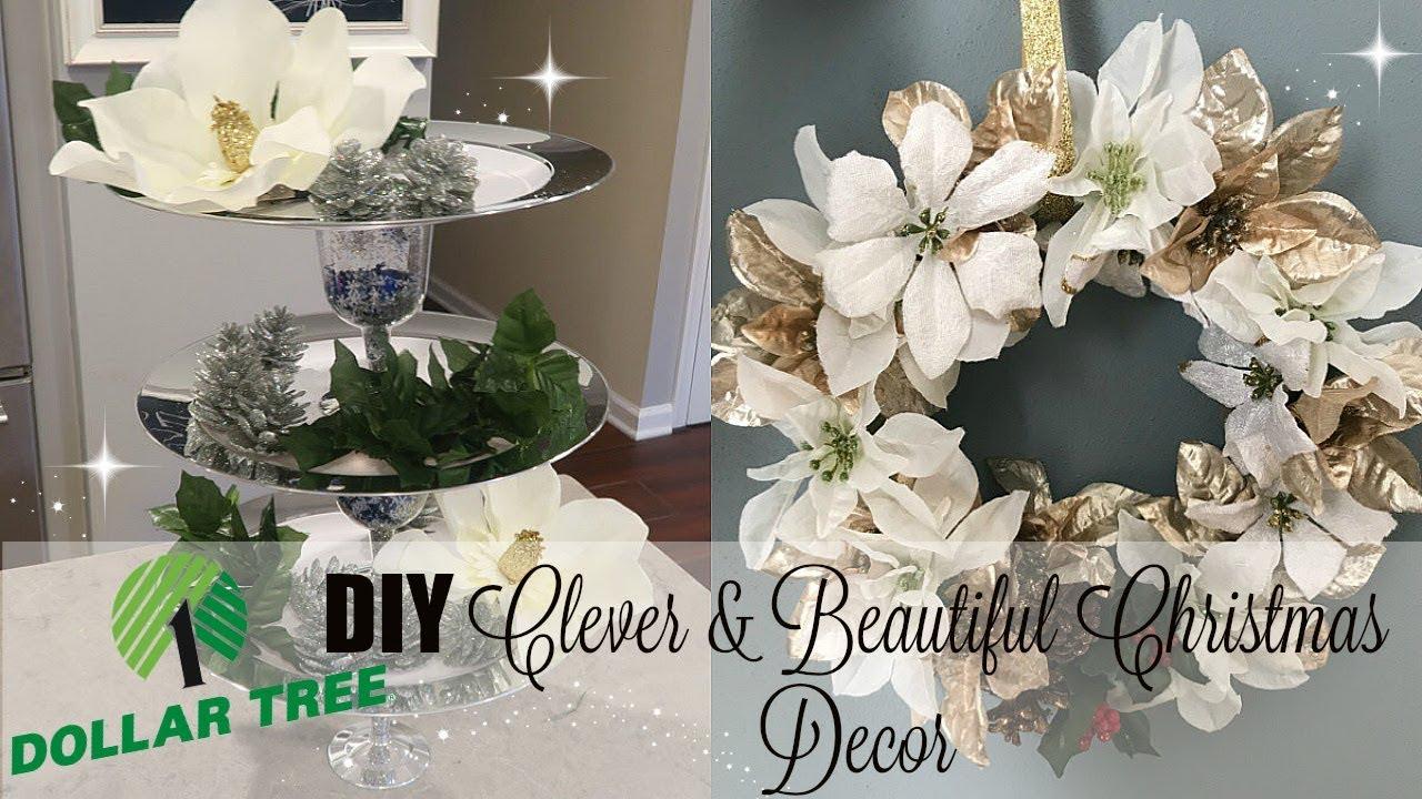 6 CLEVER & BEAUTIFUL DOLLAR TREE CHRISTMAS DECOR DIYS ...