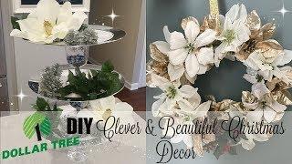 6 CLEVER & BEAUTIFUL DOLLAR TREE CHRISTMAS DECOR DIYS // CHRISTMAS 2017 DIY HOME DECOR