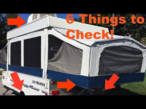 6 THINGS you MUST CHECK before you buy a POP UP CAMPER!