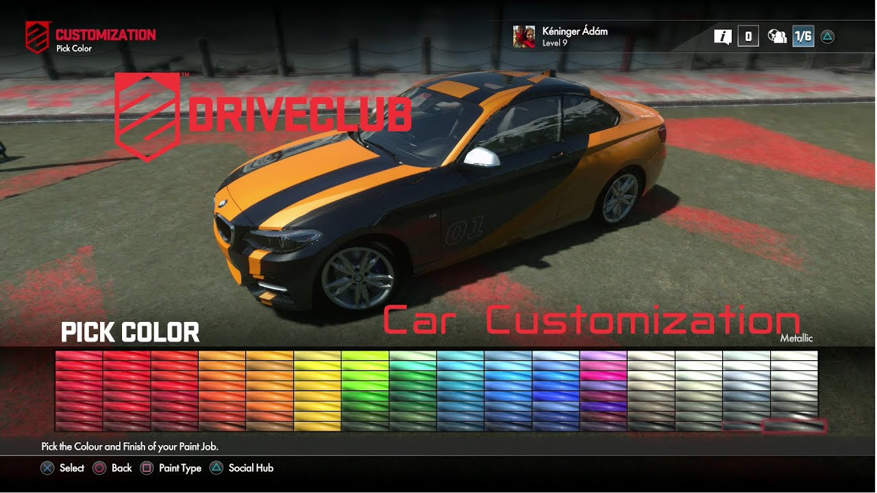 Car Customizing And Racing Games