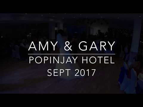 Amy and Gary - Popinjay Hotel Wedding - September 2017