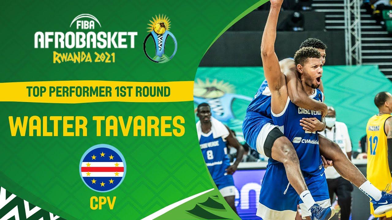 Dominance! - Walter Tavares - Cape Verde - FIBA AfroBasket 2021