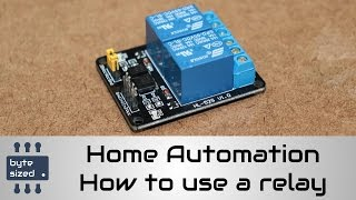DIY Smart Switch - Part 1 how to use a relay