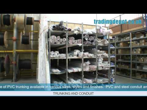 TRADING DEPOT: Conduit, PVC & Steel Trunking