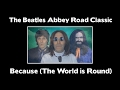 WOW!!! - The Beatles  - Because