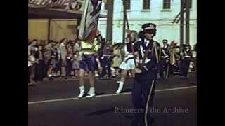 Columbus Day Parade, Santa Clara, CA - 1948
