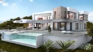 1 350 000 Euros : Gagner en soleil Espagne : Villa moderne design grand luxe vue panoramique