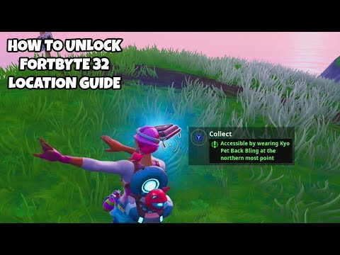 how-to-unlock-fortbyte-32-location-guide-|-accessible-by-wearing-kyo-back-bling-at-northern-point