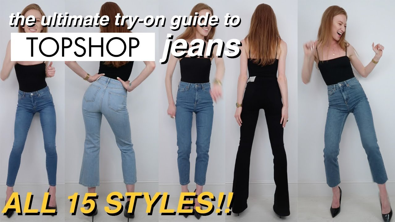 8dda6057cfcd3 The ultimate try-on guide to Topshop jeans | EVERY STYLE! | 2018