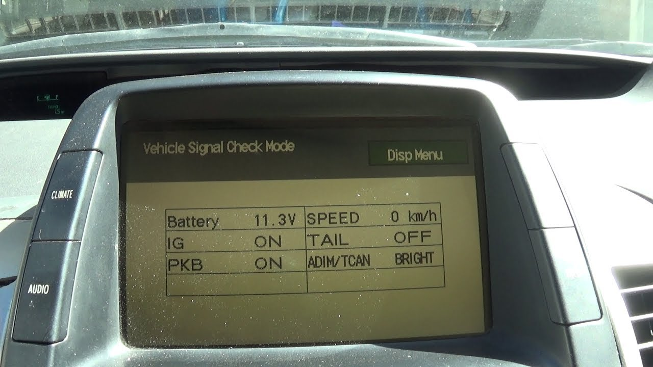 How To Check Your Prius 12v Battery Voltage