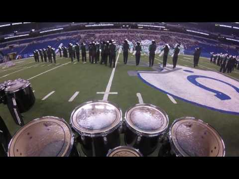 Zionsville Marching Eagles Lucas Oil Stadium Tenor Cam 2016