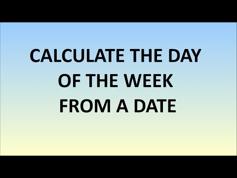When Is Christmas? Mentally Convert Date To Day Of The Week