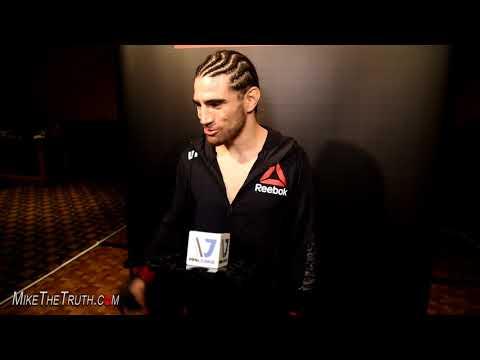 #UFCAustin Post-Fight Interview w/Roberto Sanchez