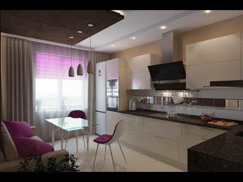 ДИВАН на кухне 9-12 м2. Примеры расположения