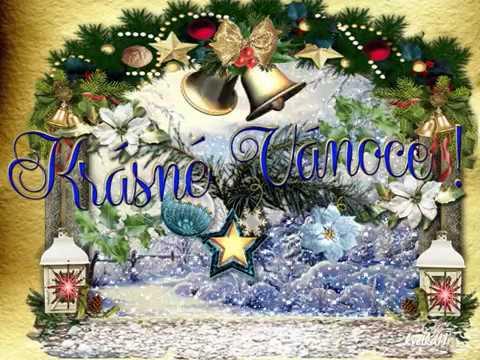 Vánoční přání  s písničkou Rolničky