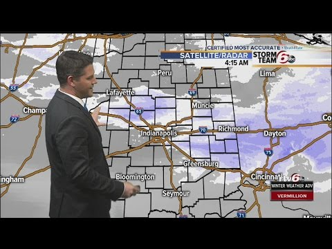 ACTION: Winter Storm Warning For Much Of Central Indiana