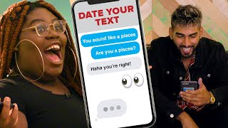 Girl Chooses A Blind Date Based On Their Texts