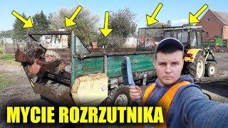 Mycie Rozrzutnika! ☆Babcia Mówi RUSKIE Maszyny Najlepsze !☆Vlog z Podwórka