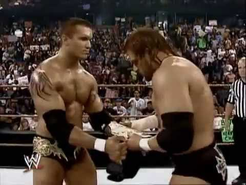 WWE PPV Royal Rumble 2005 Triple H vs Randy Orton Promo