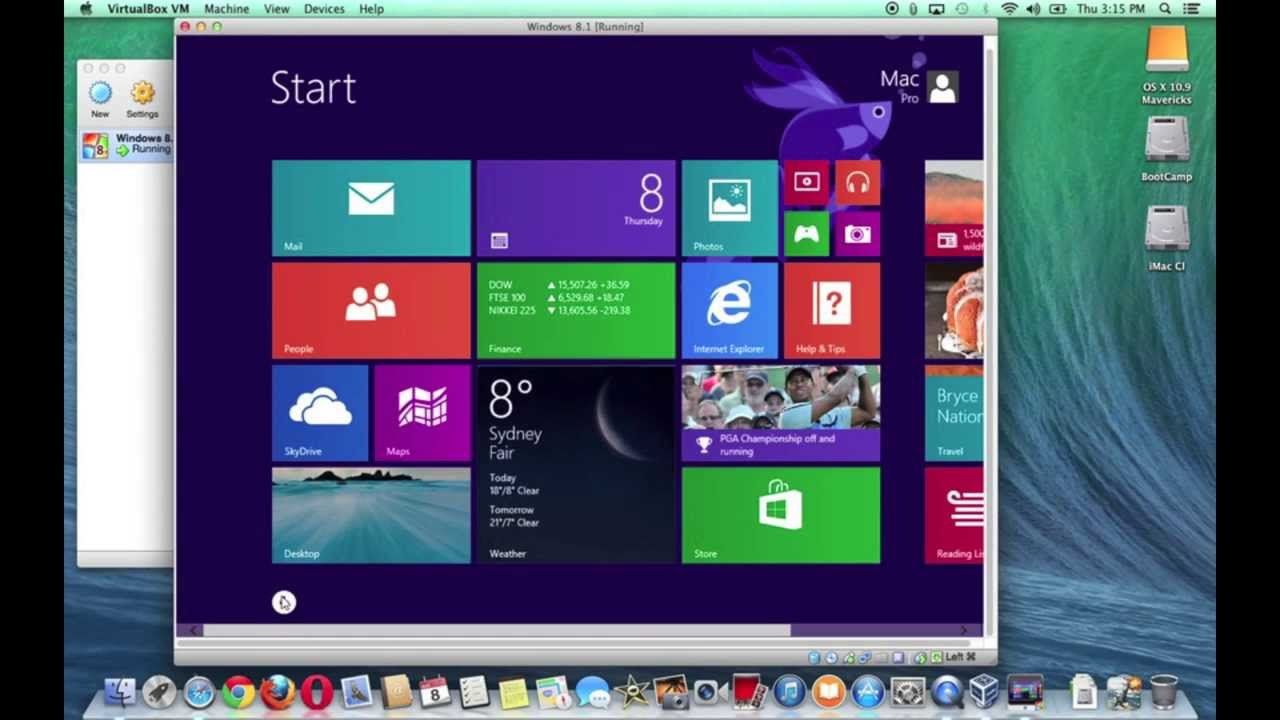 Installing & Running Windows 8 in VirtualBox
