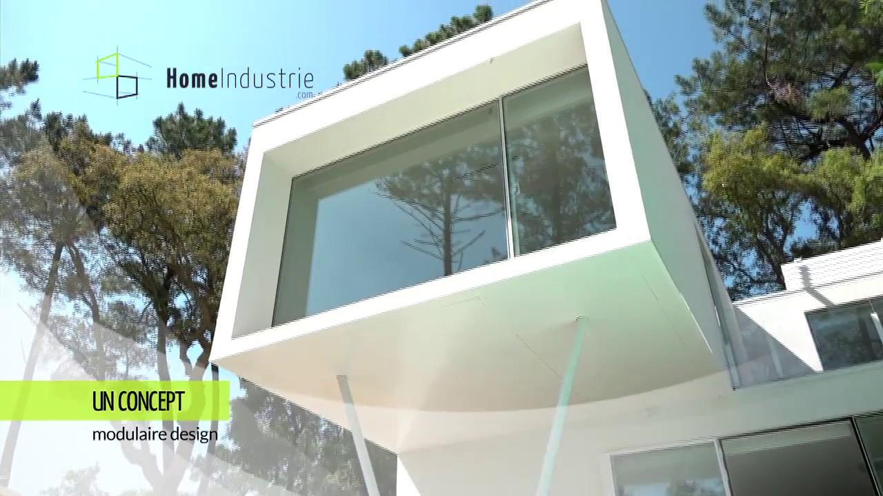 Home industrie labenne 2016 maison modulaire maison design maison contemporaine youtube - Maison bloc modulaire ...