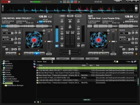 Mezclando En Vivo Reggaeton 2012 Virtual DJ  7 DJ Daryl