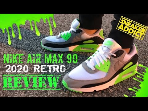 air max 90 neon green for sale